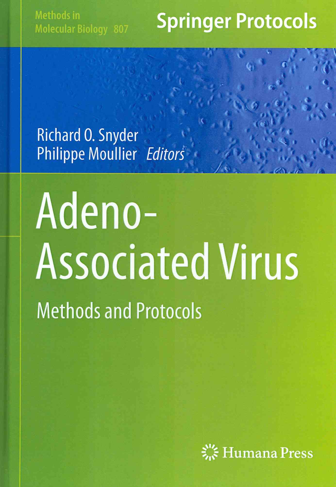 Adeno-Associated Virus By Snyder, Richard O. (EDT)/ Moullier, Philippe (EDT)